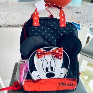 Minnie mouse backpack! New with tags